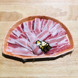 比利時天然黑豚腩片