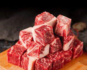 美國安格斯牛肉粒