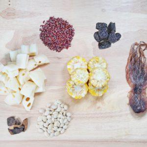赤小豆蓮藕章魚湯料包
