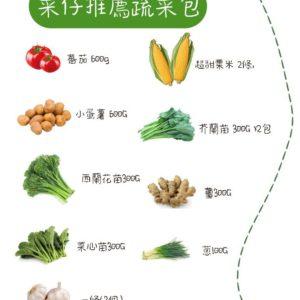 菜仔推薦蔬菜包👍🏻煮餸必備
