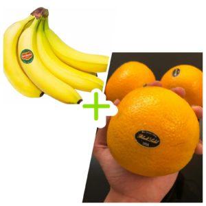 地捫蕉 + 黑牌橙⭐