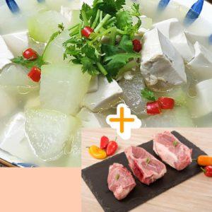 冬瓜鮮菇豆腐西施骨 湯料包 ( NEW )⭐