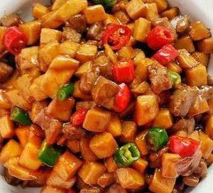小雞脾菇炒牛肉粒 材料包 ( NEW )⭐