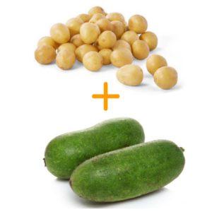 【優惠組合】節瓜 + 小蛋薯 ⭐
