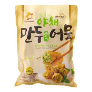 韓國野菜餃子魚糕 ( NEW )