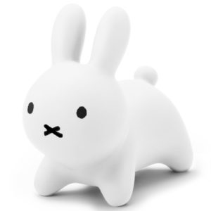 Bruna bonbon 充氣跳跳兔座椅(白色)